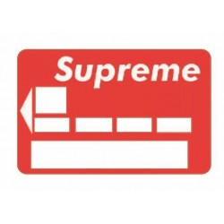 Sticker CB Supreme