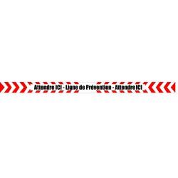 ligne prevention rouge
