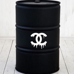 Kit Stickers baril Chanel coulant