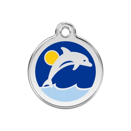 Médaille Chien Red Dingo Dauphin