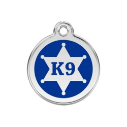 Médaille Chien Red Dingo Sheriff K9