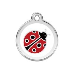 Médaille Chien Red Dingo Coccinelle