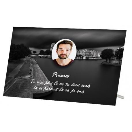 Plaque Funéraire Paris