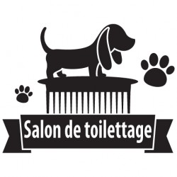 Sticker salon de toilettage 9