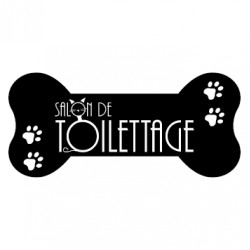Sticker salon de toilettage 12