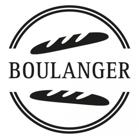 Sticker Boulanger Patissier