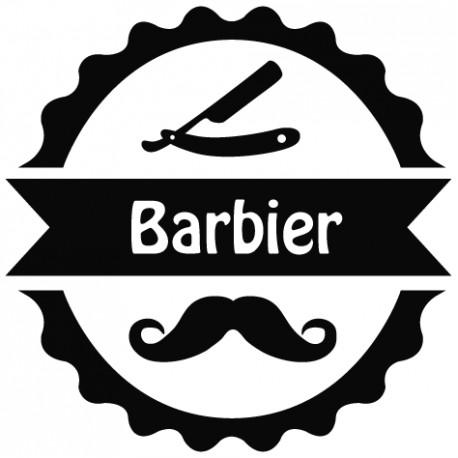 Sticker coiffeur 2