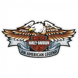 Sticker couleur Harley 1