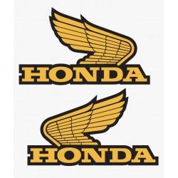 Sticker couleur Honda