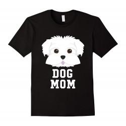 "Tee shirt Femme ""Dog Mom"""