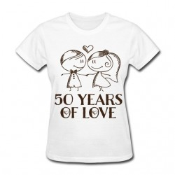 Tee shirt personnalisé Years of Love
